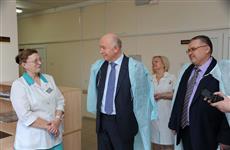 Николай Меркушкин посетил новую поликлинику в селе Кротовка