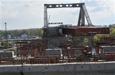 Стартовал последний этап надвижки пролетного строения Фрунзенского моста