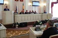 Иван Белозерцев представил отчет о результатах деятельности правительства Пензенской области в 2017 году