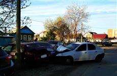 В Новокуйбышевске уснувший за рулем водитель въехал в четыре машины