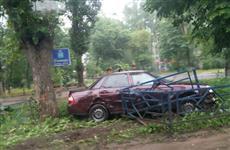 В Самаре столкнулись три автомобиля АвтоВАЗа