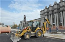 Ремонт площади имени Куйбышева завершат к 1 ноября