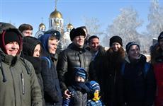 В Самаре отмечают День защитника Отечества