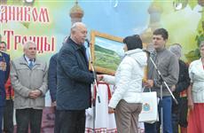 Николай Меркушкин на Троицу по традиции посетил свою малую родину