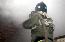 В Безенчукском районе ликвидировали крупный пожар на дачах в с. Осинки