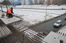 Строительство путепровода через ул. Ташкентскую завершат в конце апреля