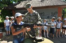 """Самарские школьники готовятся к финалу """"Зарницы"""""""
