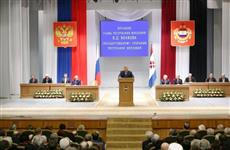 Глава Мордовии Владимир Волков выступил с ежегодным Посланием Государственному Собранию