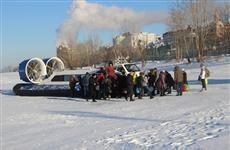 Открыто движение судов на воздушной подушке между Самарой и Рождествено