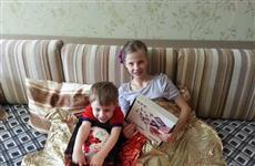 Трехлетний болельщик из Тольятти получил подарок от футболистов сборной России