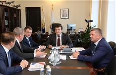 Глеб Никитин провел рабочую встречу с представителями ОАК