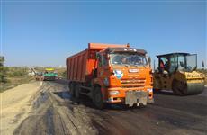 Ремонт 12-километрового участка обводной дороги Самары завершится в конце октября
