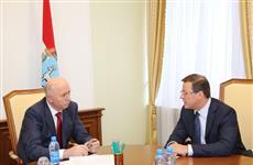 Николай Меркушкин провел рабочую встречу с Дмитрием Азаровым