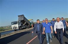 Валерий Радаев и Игорь Астахов осмотрели ремонт дорог и строительство новых объектов в Саратове