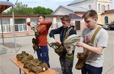 В Кинельском районе проходят двухдневные военно-полевые сборы для старшеклассников Самары