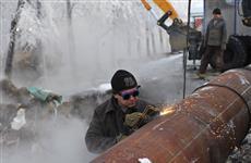 В Новокуйбышевске произошла крупная коммунальная авария