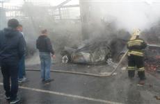 В аварии под Сызранью заживо сгорела молодая семейная пара