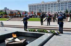 В Самаре минутой молчания почтили память погибших в Великой Отечественной войне