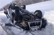 На трассе Самара — Бугуруслан три человека пострадали при столкновении Chevrolet и Nissan