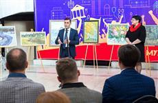 Вятские художники подарили кировскому онкодиспансеру 50 картин