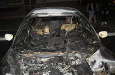 В Тольятти на ул. Белорусской ночью обгорел BMW 530xi