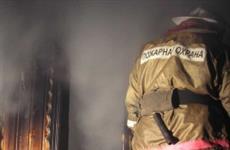 В Самаре 29 человек тушили крупный пожар в пятиэтажке в пос. Красная Глинка