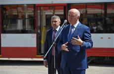 Николай Меркушкин передал самарскому ТТУ 10 трехсекционных трамваев