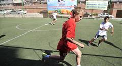 В Самарскую область пришло «Лето с футбольным мячом»