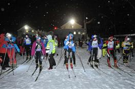В Самаре прошла ночная лыжная гонка