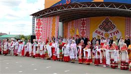 Село Белозерки на один день стало культурной чувашской столицей Поволжья