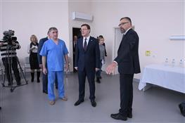 """В Самаре открылся новый лечебно-реабилитационный центр """"Медгард"""""""
