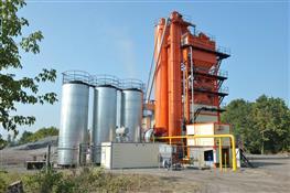 В п. Козелки после модернизации заработал асфальтобетонный завод
