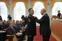 Расширенное заседание коллегии ГУ МВД по Самарской области