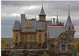 Замок Гарибальди прославился на всю страну