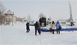 Экскурсионный рейс в Винновку на воздушной подушке
