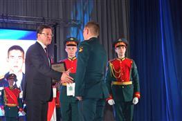 Глава региона поздравил военнослужащих Рощинского военного гарнизона с Днем защитника Отечества