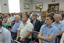 Совещание в Сергиевске по вопросу реализации областной программы