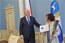 Николай Меркушкин поздравил победителей конкурса на предоставления губернских грантов в области культуры и искусства