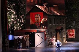 """В Самаре прошла премьера оперетты на музыку Шостаковича """"Тарам-парам, ни-на, ни-на, или Квартирный вопрос их испортил"""""""