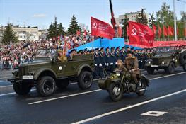 Парад, посвященный 73-й годовщине Победы