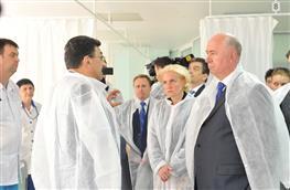 Ольга Голодец посетила медицинскую компанию ИДК