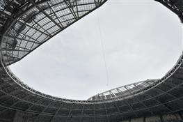 """Представители FIFA и Оргкомитета """"Россия-2018"""" осмотрели стадион """"Самара Арена"""""""