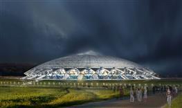 Компания Knauf презентовала эскизы интерьера стадиона Cosmos Arena