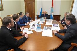 Николай Меркушкин провел совещание, посвященное строительству нового речного вокзала в Самаре