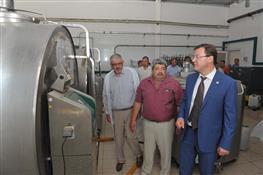 Глава области посетил молочную ферму в селе Богдановка