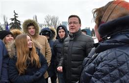 Самарцы почтили память героев Сталинграда