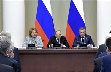 Путин призвал законодателей обратить особое внимание на охрану природы