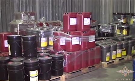 В Тольятти нашли цех по производству контрафактных моторных масел