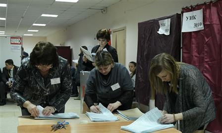 Владимир Путин в Самарской области набрал 75,82%