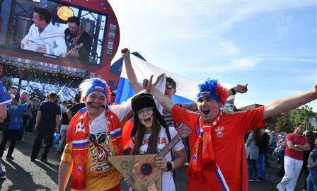 В Самаре открылась фан-зона на площади Куйбышева